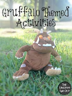 Have you discovered The Gruffalo? Do you have a Gruffalo fan at your house? We're sharing our Favorite Gruffalo Themed Activities with you! We were so thrilled that The Gruffalo reached out to us to Gruffalo Activities, Gruffalo Party, Monster Activities, The Gruffalo, Craft Activities For Kids, Book Activities, Kids Crafts, Teaching Resources, Teaching Ideas