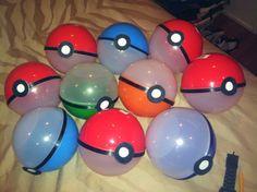 Pokemon party . Favor bags