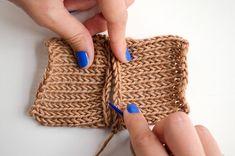 Tutoriale DIY: Cómo coser el principio y el final de una pieza de punto vía DaWanda.com