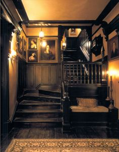 """19 Dark and Moody Interiors For the film """"Practical Magic,"""" the decidedly A-list design duo Roman and Williams built and decorated a Victorian-inspired home. Style At Home, Practical Magic House, This Old House, Witch House, Spooky House, Witch Cottage, Gothic Home Decor, Modern Victorian Decor, Gothic Interior"""