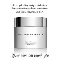 Discover Rodan+Fields' NEW Active Hydration Body Replenish for noticeably softer, smoother, more hydrated skin — all day long. Rodan Fields Lash Boost, Rodan Fields Skin Care, My Rodan And Fields, Rodan And Fields Microdermabrasion, Roden And Fields, Rodan And Fields Consultant, Best Moisturizer, Skincare, Serum
