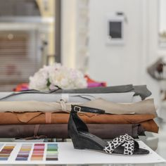 #VIAJIYU #florence #italy #shoes #design #textiles #swatches #funfreshflirty