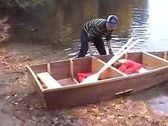 The Boy Mechanic Project: Portable Folding Boat