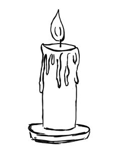 birthday candle coloring pages printable christmas pinterest
