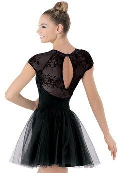 Flocked Mesh Dress   Balera™