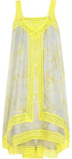 THURLEY | Pop and Fizz mini dress ($395) (100% silk)