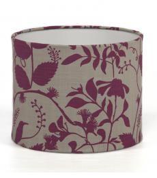 Purple garden R200.00  #interior #design #lampshade #purple #garden #botanical #lighting #southafrica
