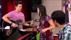 Violetta: Luca, Francesca y Federico cantan ¨Ven y canta¨ en italiano