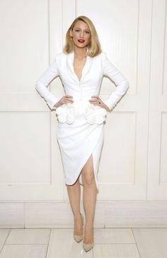 Blake Lively in Ralph & Russo Couture at the All I See Is You LA Screening