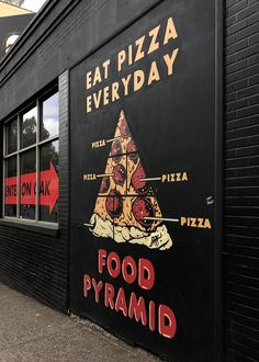 Foto des Tages: Essen Sie jeden Tag Pizza The Effective Pictures We Offer You About Restaurant building A quality picture can tell you many things. You can find the most beautiful pictures that can be Pizza Branding, Pizza Logo, Restaurant Branding, Restaurant Design, Restaurant Poster, Pizzeria Design, Logo Pizzeria, Pizza Restaurant, Photo Restaurant
