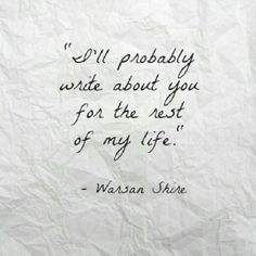 Warsan Shire is my hands down favorite! the word should know of this darling lady :) -B