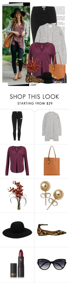 """""""Leopard Flats"""" by talvadh ❤ liked on Polyvore featuring Acne Studios, Velvet by Graham & Spencer, Marc Jacobs, Nearly Natural, Bling Jewelry, Off-White, French Sole FS/NY, Lipstick Queen and La Perla"""