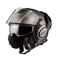 Klapphelm XL 61//62 LS2 FF399 Valiant Titanium Matt Motorradhelm