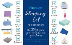 A Norwex Shopping List for Beginners: How to Get Started