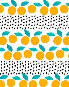 Citrus and Dots.
