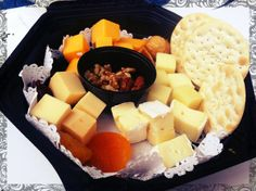 Cheese plate at The 2014 Houston Livestock Show and Rodeo Wine Garden #Houston #Texas #Food #AdventuresInANewishCity