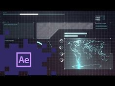 After Effects - Creating an Awesome Futuristic HUD Tutorial