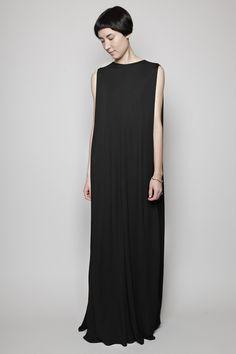 Totokaelo - Maison Martin Margiela - Long Evening Dress - Black