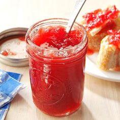 Pineapple-Rhubarb Jam--Taste of Home Magazine
