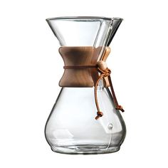 The Chemex Pour-over Coffee Maker's iconic design, unchanged since makes an incredibly clear & pure cup of coffee. Buy this classic coffee maker today! Chemex Coffee Maker, Pour Over Coffee Maker, Coffee Drinks, Coffee Cups, Coffee Beans, Coffee Time, Coffee Shop, Mint Coffee, Coffe Bar