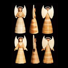 Tree Top Angels Intarsia Pattern