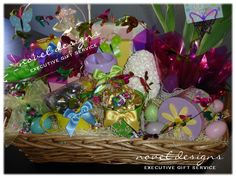 Easter elegance giftbasket custom designed gift baskets abundant easter giftbasket custom designed gift baskets for everyday occasions and corporate events negle Choice Image