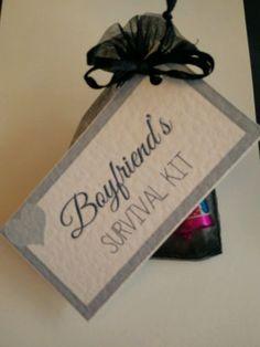 valentine's day survival kit gift