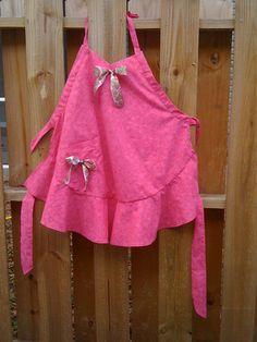 """Pretty in Pink"" apron"