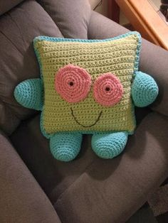 Happy Face Pillow by VermontPrimitives on Etsy