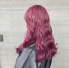 Hair Color Streaks, Hair Dye Colors, Cool Hair Color, Hair Inspo, Hair Inspiration, Coloured Hair, Dye My Hair, Aesthetic Hair, Pink Hair