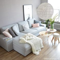 18 Trendy home wallpaper living room couch Interior Design, Living Room Decor, Living Room Scandinavian, Home, Interior, Trendy Living Rooms, Wallpaper Living Room, Living Room Style, Living Room Grey