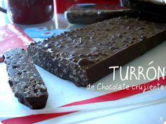 TURRÓN de Chocolate crujiente (THX)