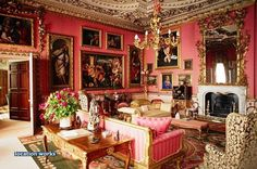Red Drawing Room. Bu