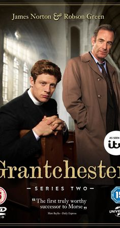 Created by Daisy Coulam.  With James Norton, Robson Green, Morven Christie, Tessa Peake-Jones. A Cambridgeshire clergyman finds himself investigating a series of mysterious wrongdoings in his small village of Grantchester.
