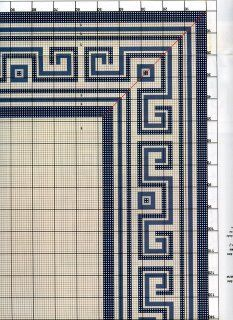 Tiny Cross Stitch, Cross Stitch Borders, Cross Stitching, Cross Stitch Embroidery, Cross Stitch Patterns, Crochet Patterns, Geometric Rug, Tapestry Crochet, Embroidery Stitches