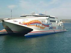 Condor Ferries return to Weymouth.