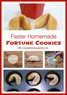 Faster Homemade Fortune Cookies using a griddle on the stove instead of baking them in the oven.
