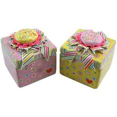 Happi Keepsake Boxes - Baby's First Tooth And First Curl ~ Girl