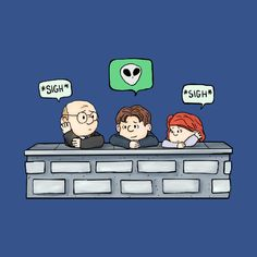 Charlie Brown style of Walter Skinner, Mulder and Scully Harry Potter More, Dana Scully, David Duchovny, Trust No One, Gillian Anderson, Snoopy And Woodstock, Tv, Cute Art, Baby Love