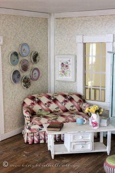 To Kill a Mockingbird: LDelaney, an Etsy Shop; Bluebird Mug: TwelveTimesMoreTeeny, an Etsy shop (Spain); Flower Vase: purchased at a craft shop; ...