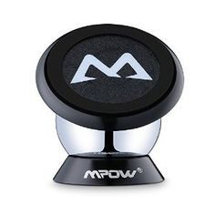 Magnetic Mount Holder, Mpow 360 Degree Rotatable Sticky Magnetic Mini Car Phone Mounts Holder Car Cradle for iPhone 6s/SE/Plus, Samsung S7/S6 Note 4/ Huawei P9 and Other Smartphones, Black: Amazon.co.uk: Computers & Accessories
