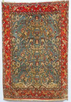 Ghoum, 202 x 140cm, Zustand B