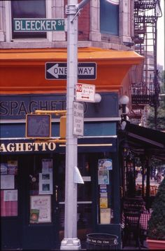 Bleecker Street in The West Village - some great shops, pubs, etc. here...