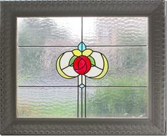 The Pink Peony of Le Jardin: Tutorial-Faux Vintage Stained Glass Windows for pennies-great gift idea!