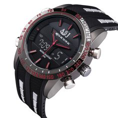 2016 fashion brand design sport digital LED man male clock steel cool military swimming wrist quartz business luxury watch #>=#>=#>=#>=#> Click on the pin to check out discount price, color, size, shipping, etc. Save and like it!
