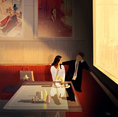⌨QUICK STOP by Pascal Campion⌨ #pascalcampion #paintings #artwork