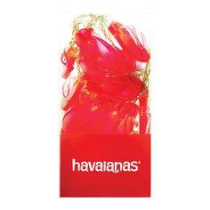 Havaianas Gummy Lights Red $49.95