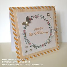 Stampin' Up! Cottage Greetings Card Kit deel 1