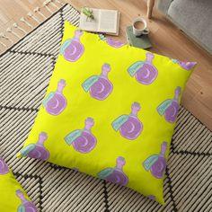 'Dream Jar' Floor Pillow by pixelpixelpixel Dream Jar, Floor Pillows, Cushions, Art Prints, Printed, Awesome, Shop, Stuff To Buy, Design