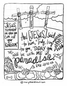 Free Scripture Based Coloring Pages From